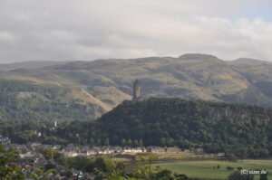 William Wallace National Monument in Stirling.