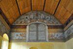Ein Teil des Königspalastes in Stirling mit original Wandmalereien.