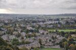 Die Stadt Stirling von der Burg her aufgenommen.