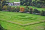 The Kingsknot, der Königsknote, ein Teil der königlichen Parks der vom Schloss sichtbar ist. Diese Teil hatte in der Mitte wohl ursprünglich einen Springbrunnen.