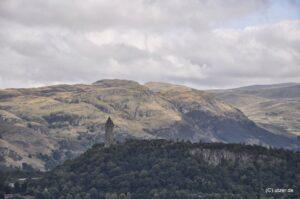 Nochmal das National Monument für den Volkshelden William Wallace.