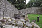 Teile des Schloss innerhalb der Mauern.