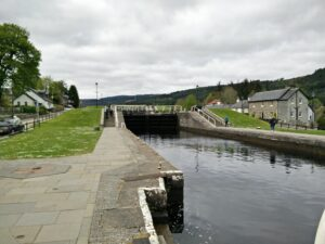 Schleuse in Fort Augustus
