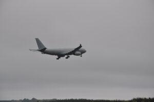 British Airforce - Landung eines Airfoce Flugzeuges