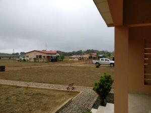 Regenschauer im Kongo