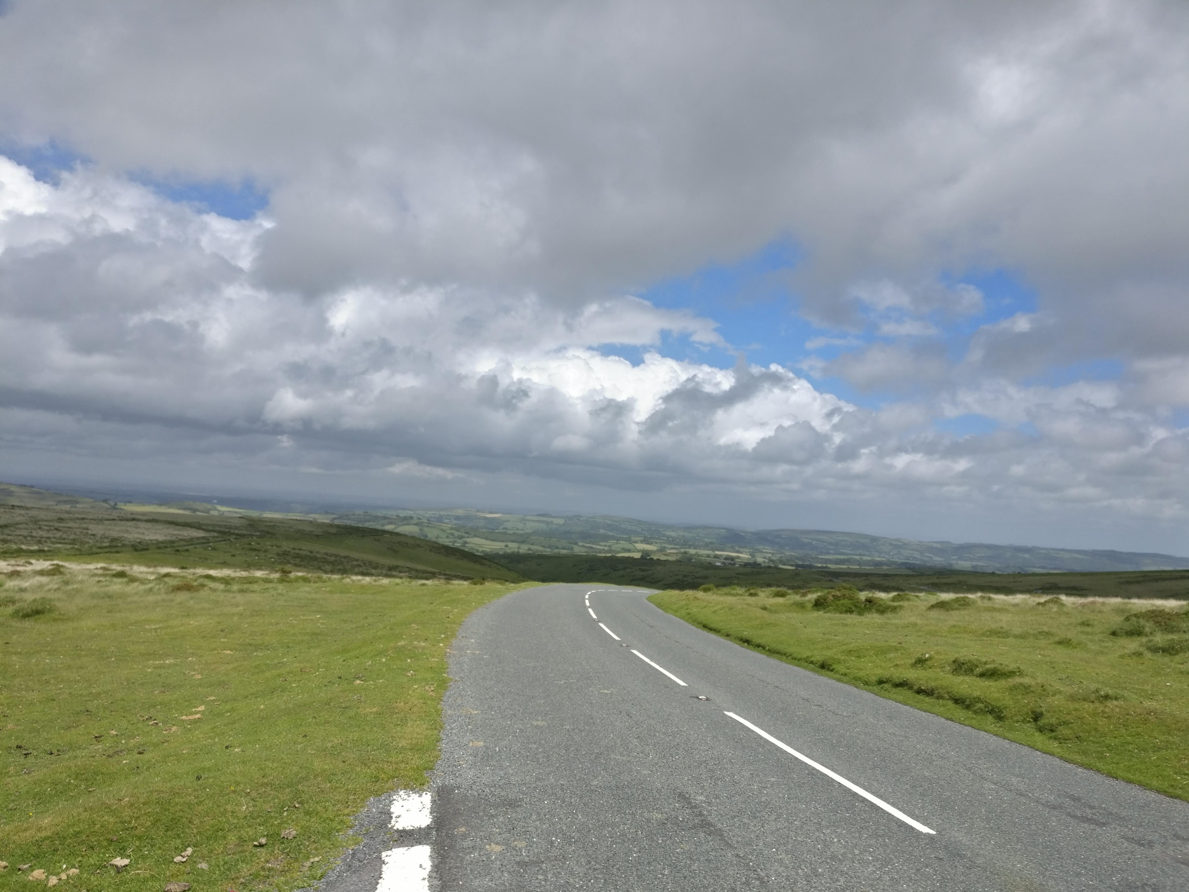 Blick übers Dartmoor