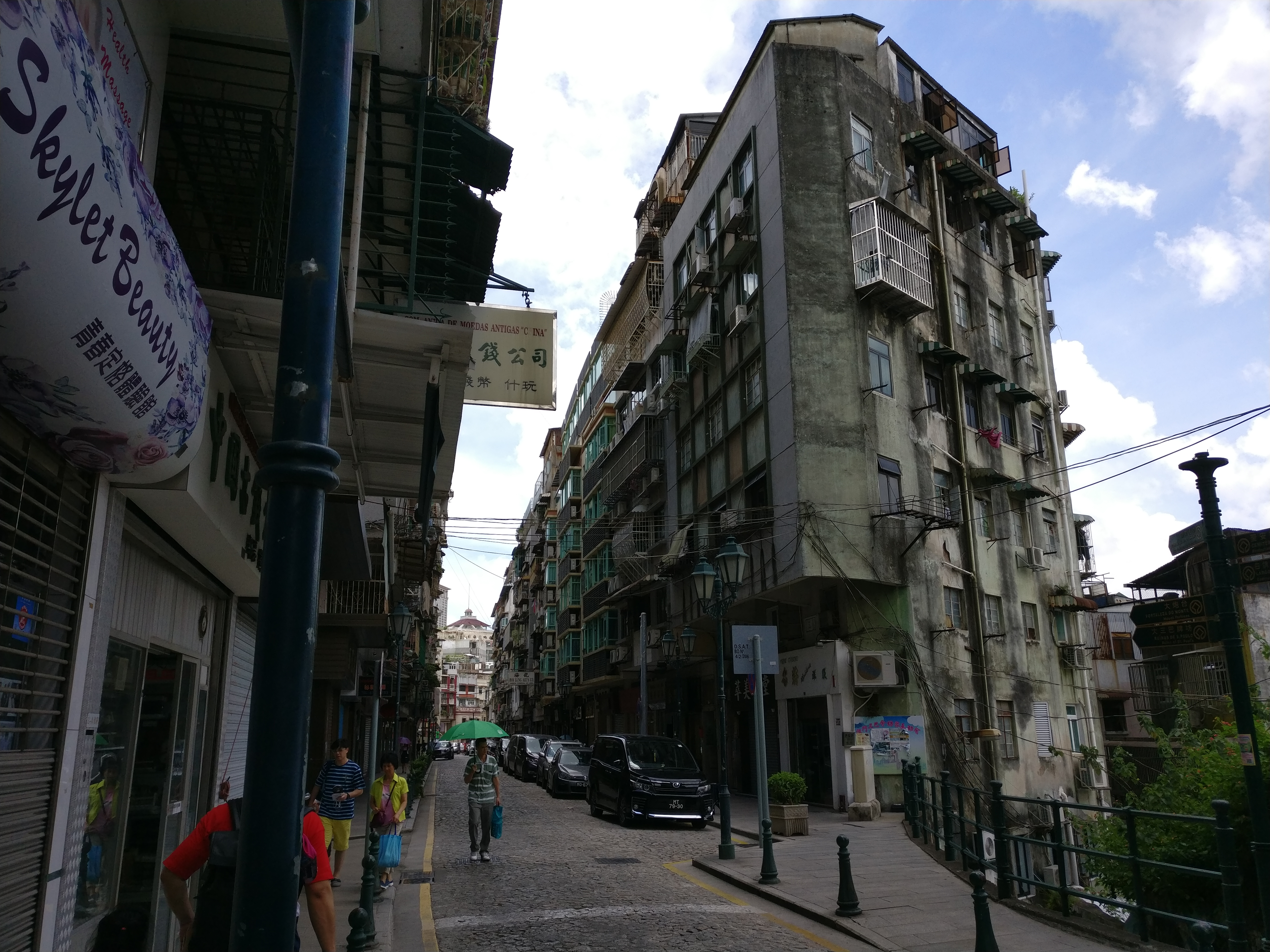 Straße in Macau