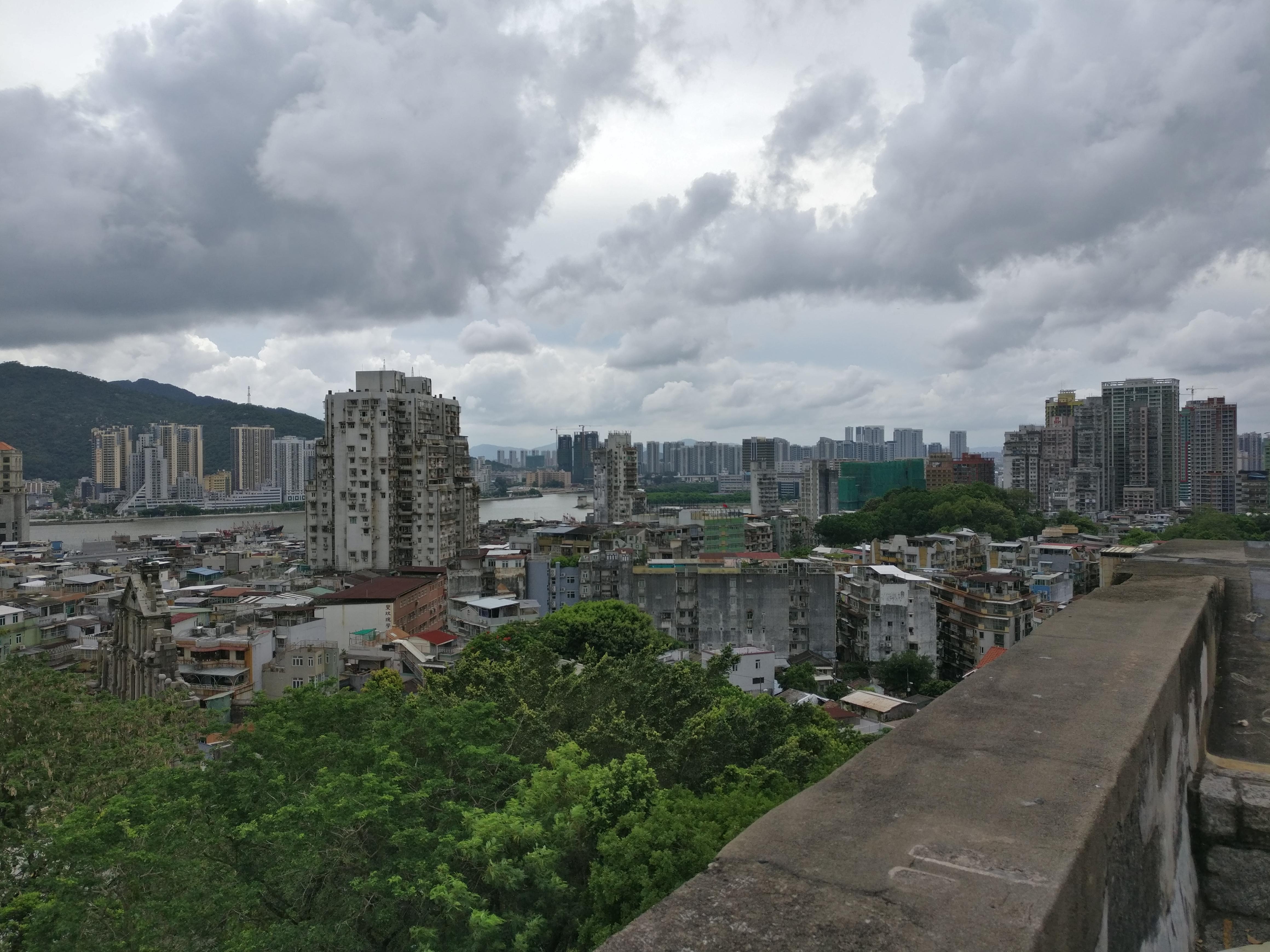 Blick vom Macau Museum