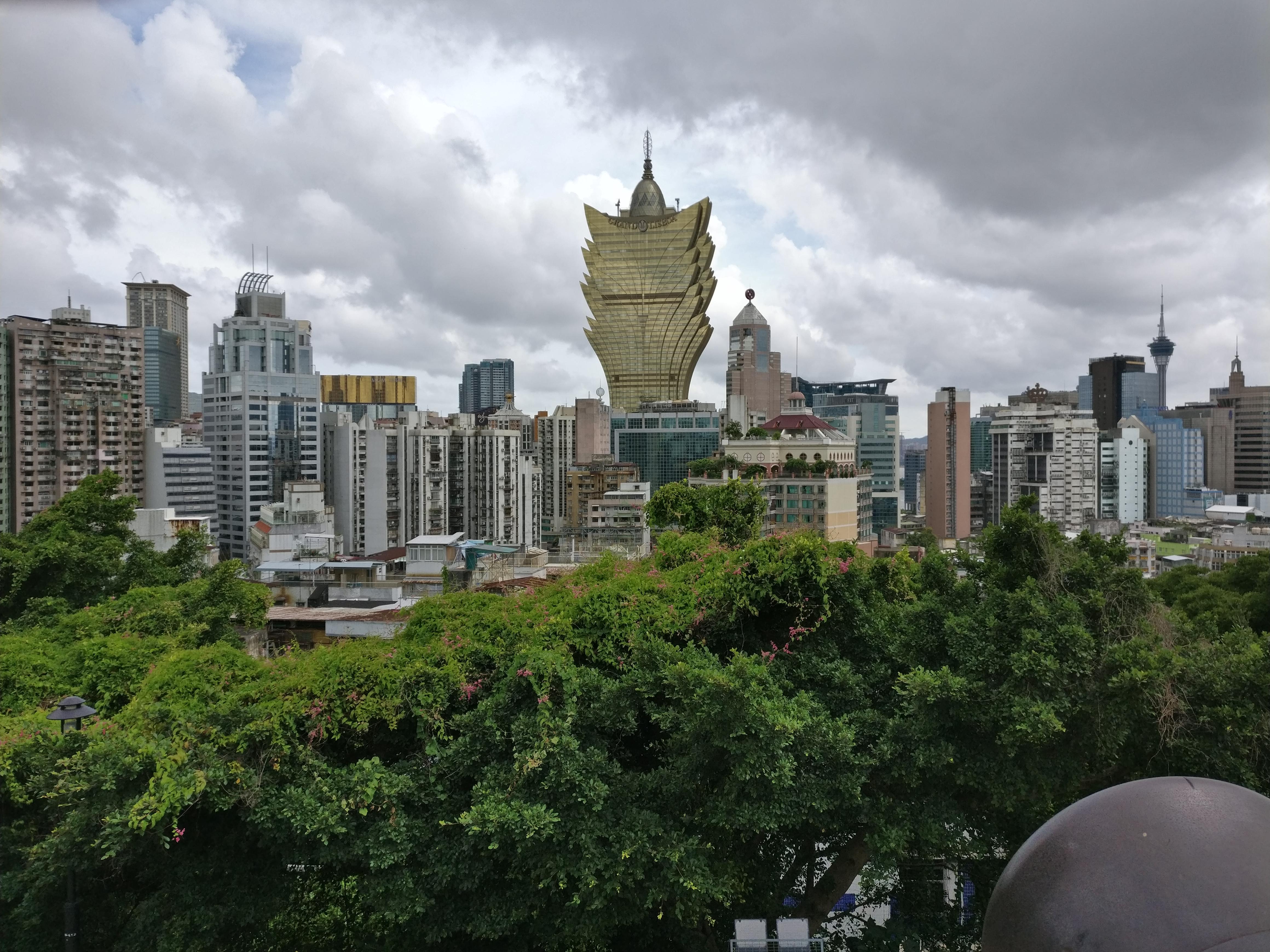 Eines der Casino in Macau