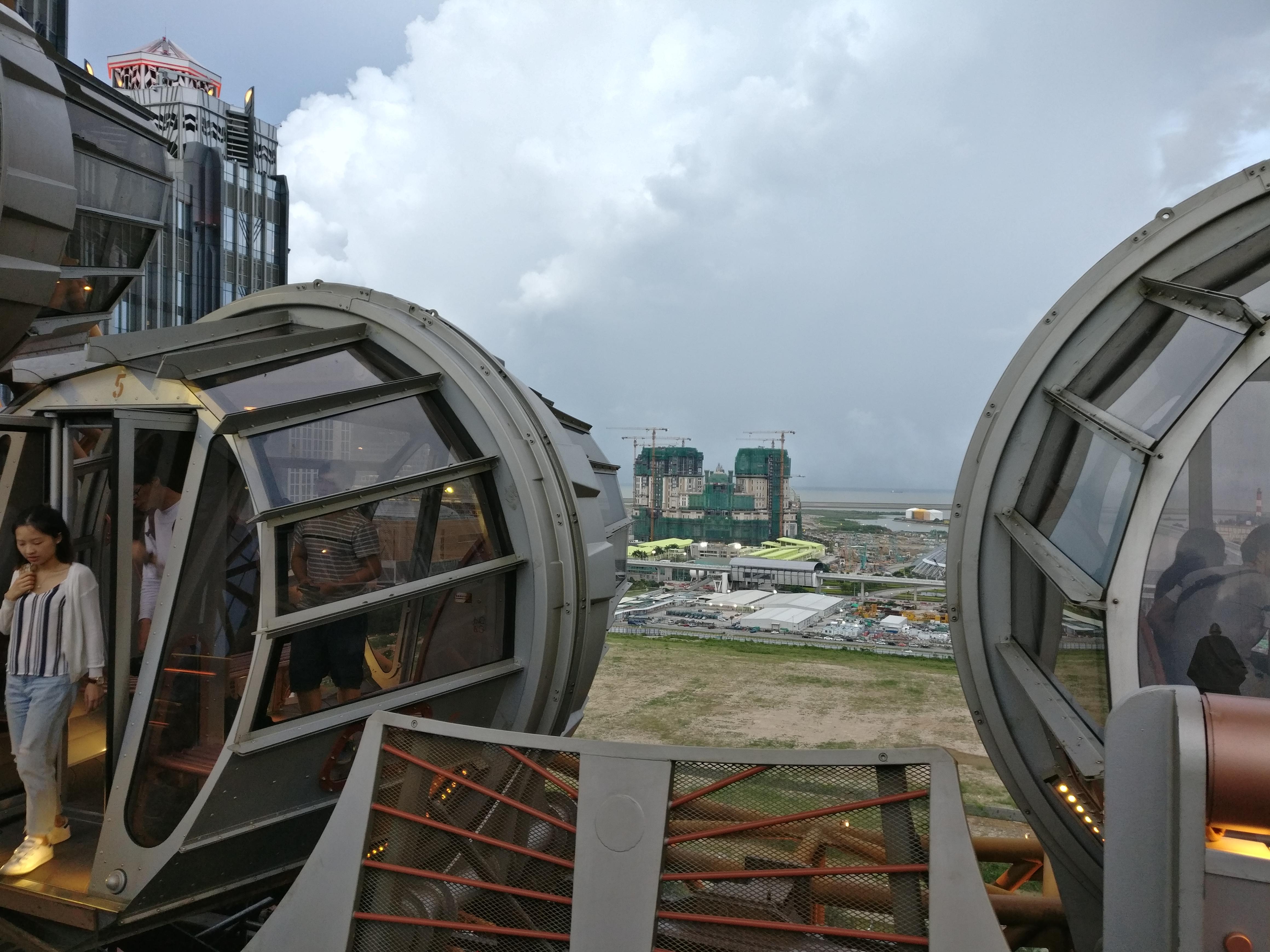 Macau: Kabinen vom Golden Reel