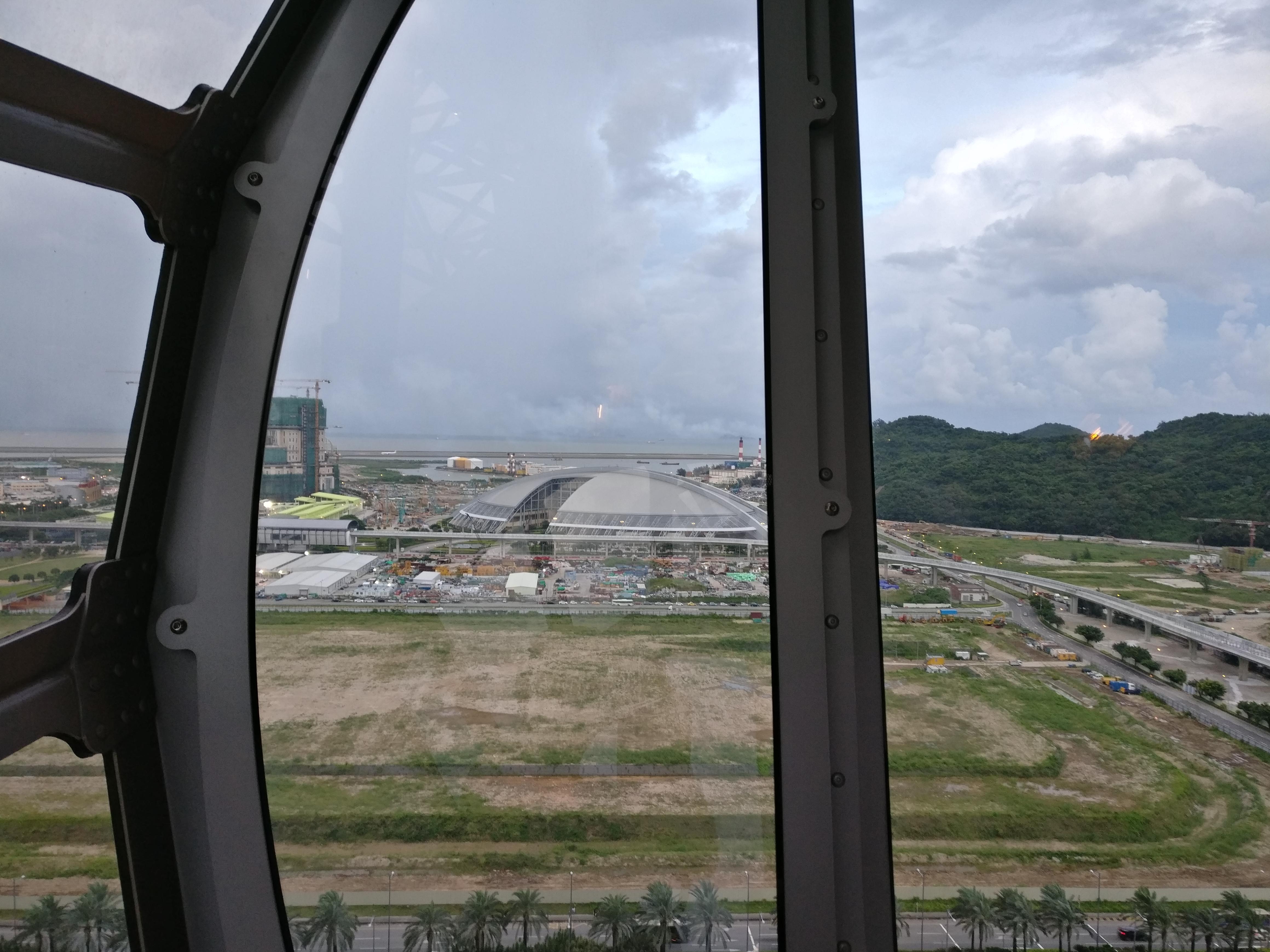 Macau: Blick aus der Kabine des Golden Reel