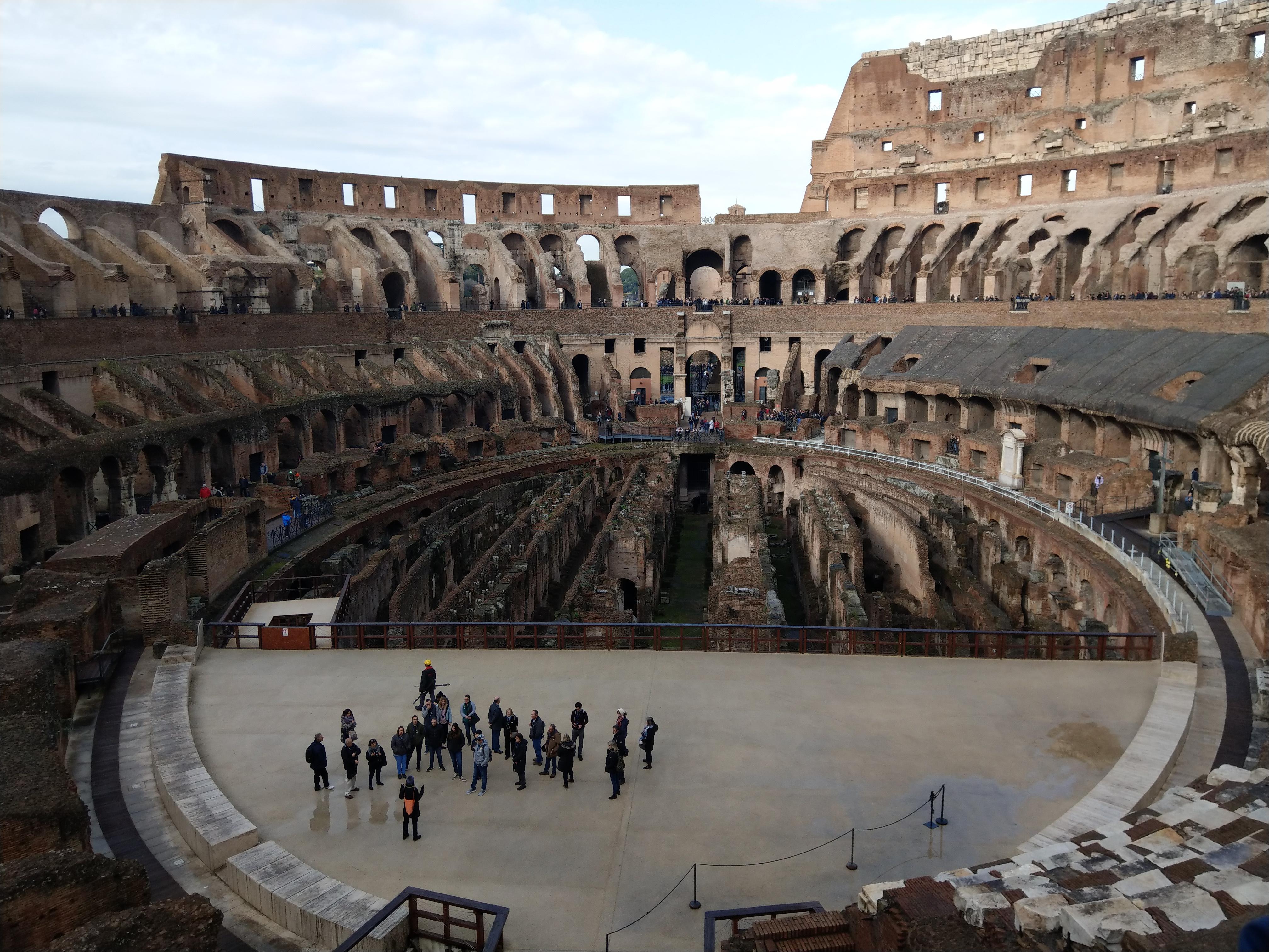 Innenraum des Kolosseum