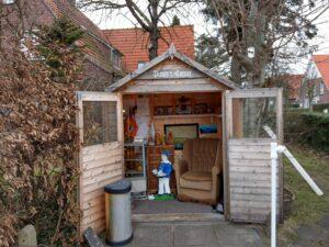 Pirate Corner, auch auf Langeoog gibt es Mitglieder der Piratenpartei