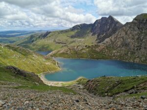 See unterhalb vom Gipfel