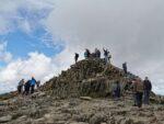 Die Überlaufene Gipfelmarkierung