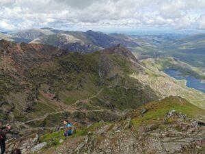 Der Ausblick vom Gipfel