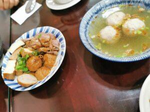 Suppe und Tofu nochmal aus der Nähe