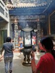 Rauch im Dajia Jenn Lann Temple