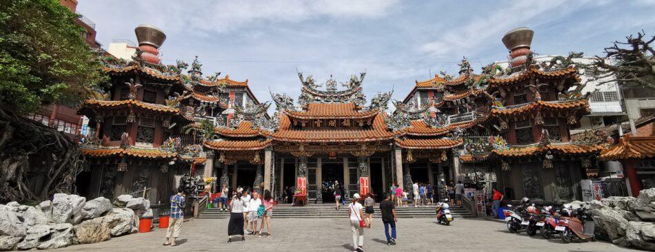 Der Tempel von außen