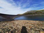 Mein Ziel, der obere See des Wasserkraftwerks Dinorwig.