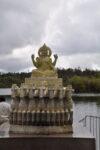 Hinduistische Statue in Ganga Talao
