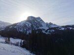 Winterlandschaft in Saanen am Lauener See