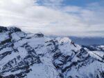 Glacier 3000 - Scex Rouge, Ausblick auf die umliegenden Berge