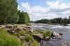 Fluss in Schweden