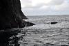 Wasserumspülter Felsen