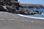 Ajuy Strand und Klippen