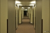 Trostloser Hotelflur