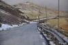 Die Straße zur Radaranlage