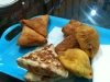 Sri Lankisches Essen zum Mittag